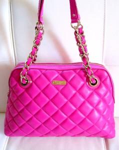 Auth $458 Kate Spade Gold Coast Georgina Shoulder Leather Bag Hot