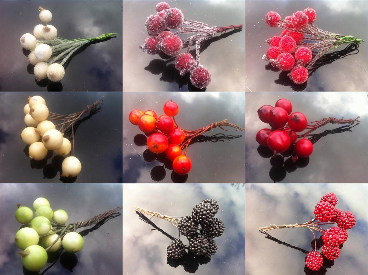 Artifical-berries-perfect-for-Christmas-decoration-garlands-wreaths-cakes-logs