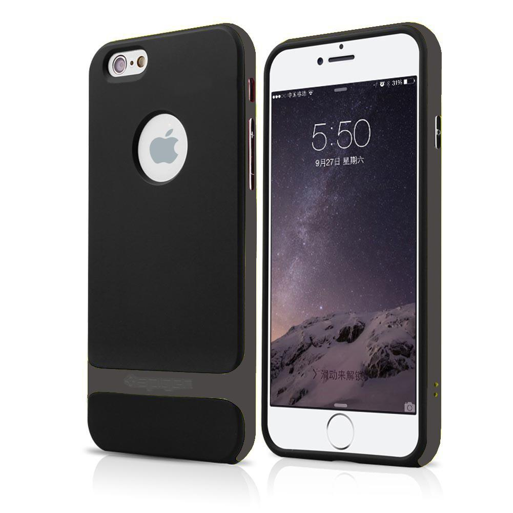rock hybrid shockproof hard bumper soft tpu case cover for iphone 6 6s plus 5 5s ebay. Black Bedroom Furniture Sets. Home Design Ideas