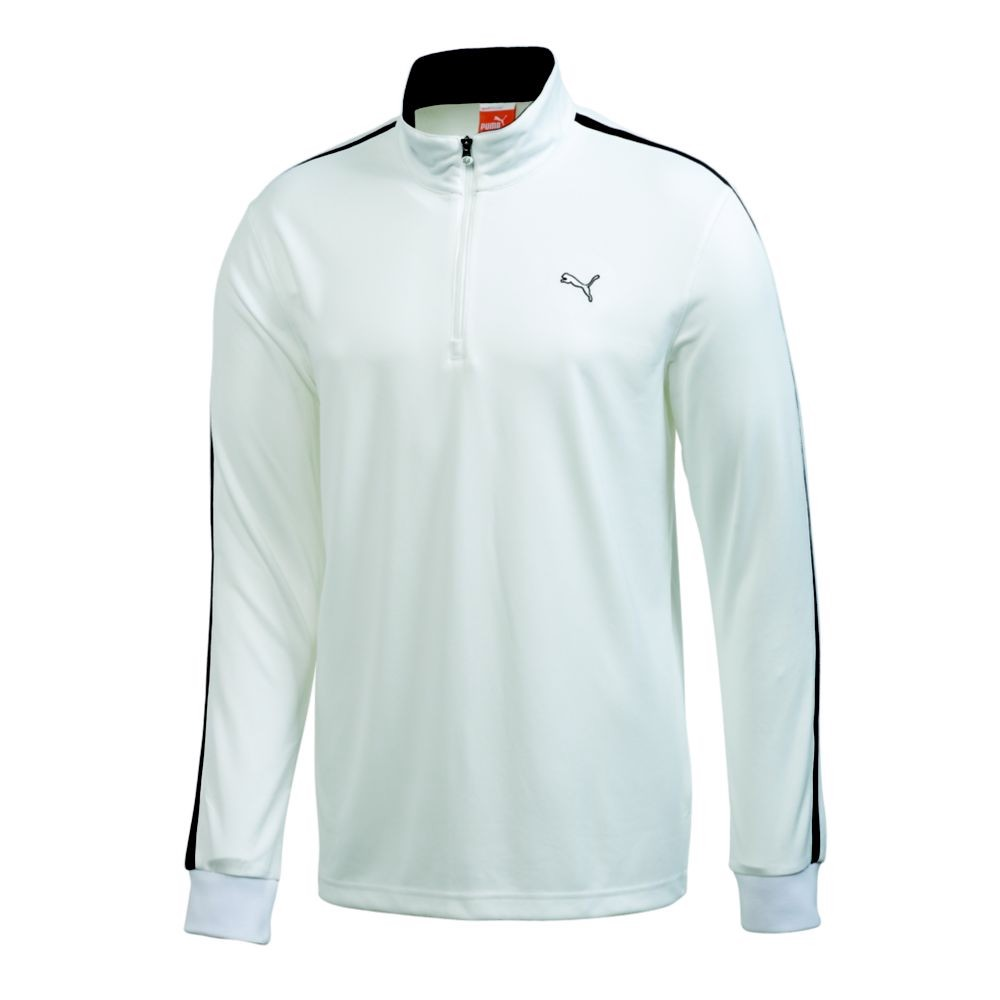 NEW PUMA LONG SLEEVE 1 4 ZIP GOLF PULLOVER SHIRT WHITE PICK SIZE ...