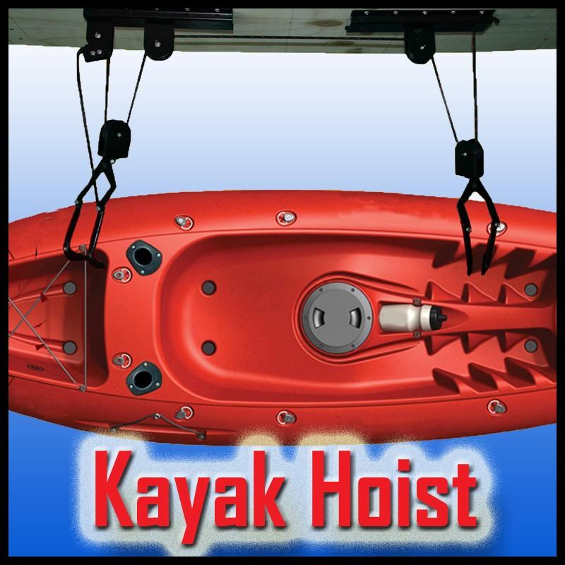 Pulleys Menards : Kayak ceiling hoist pulley images and canoe