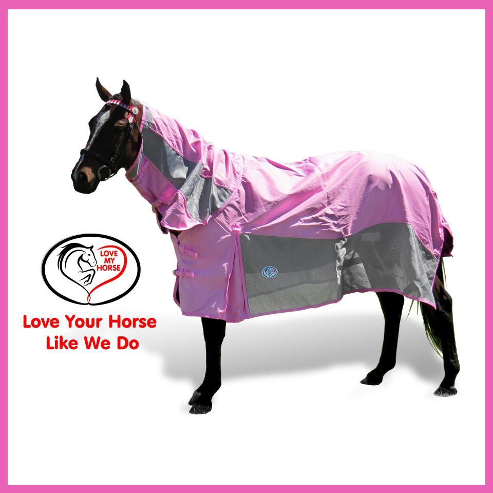 600 Denier Rainsheet / Mesh Hybrid Combo Horse Rug