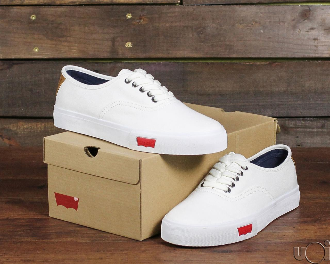 new 2013 levis footwear jordy low top canvas shoe icy snow