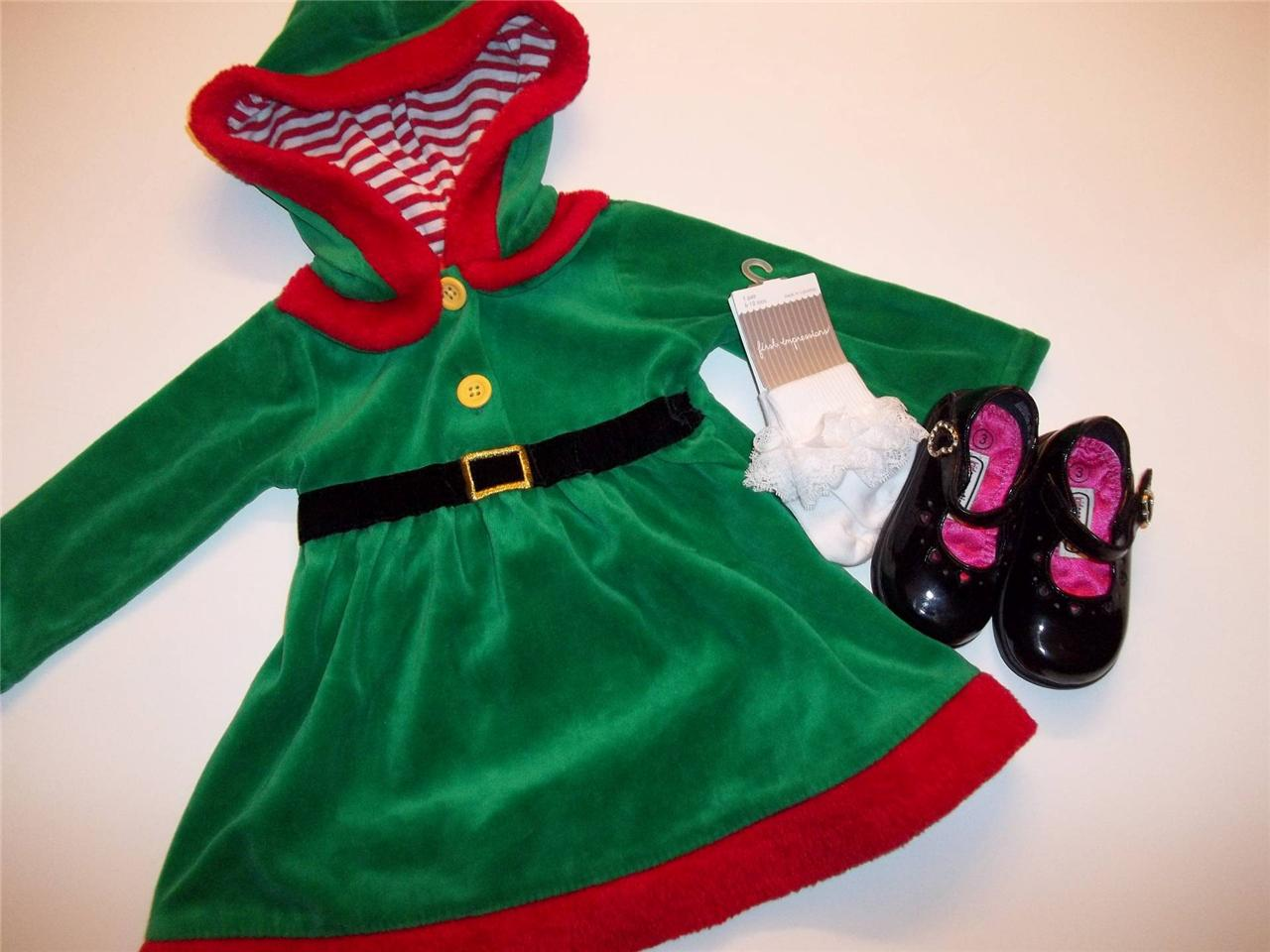 Girls clothes lot outfit christmas dress shoes socks 6 9 months ebay