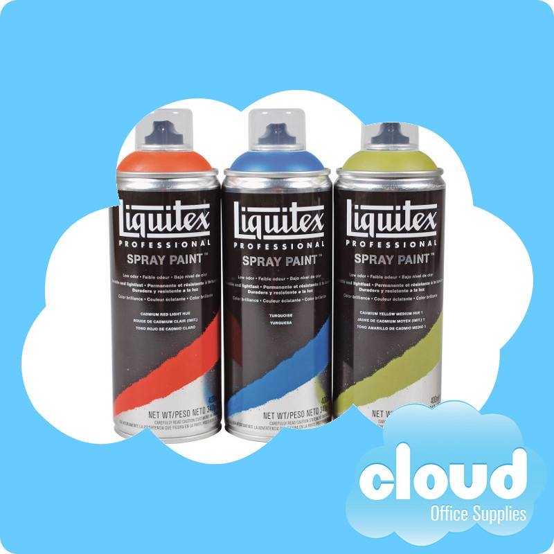 liquitex acrylic spray paint 400ml turquoise 0176 can x3 393210. Black Bedroom Furniture Sets. Home Design Ideas