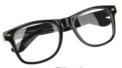 Fashion-Retro-Vintage-Clear-Lens-Frame-Wayfarer-Fancy-Dress-Nerd-Geek-Glasses