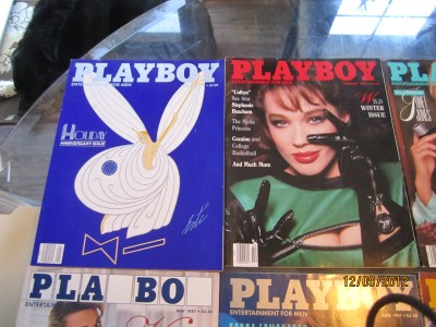 Lot of 12 Playboy Magazine 1967 Full Complete Year Vintage Great Condition!