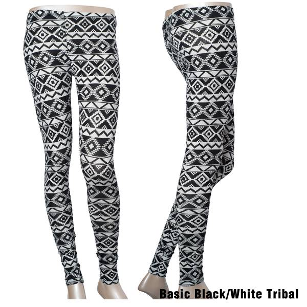 Basic Black and white High Waist Leggings