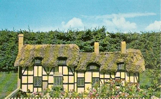 PEI Prince Edward Island ~ Model of Anne Hathaway's Cottage at Woodleigh Replicas near KENSINGTON