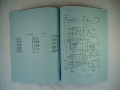 mg tc td tf wiring diagram electrical schematic 912 ebay