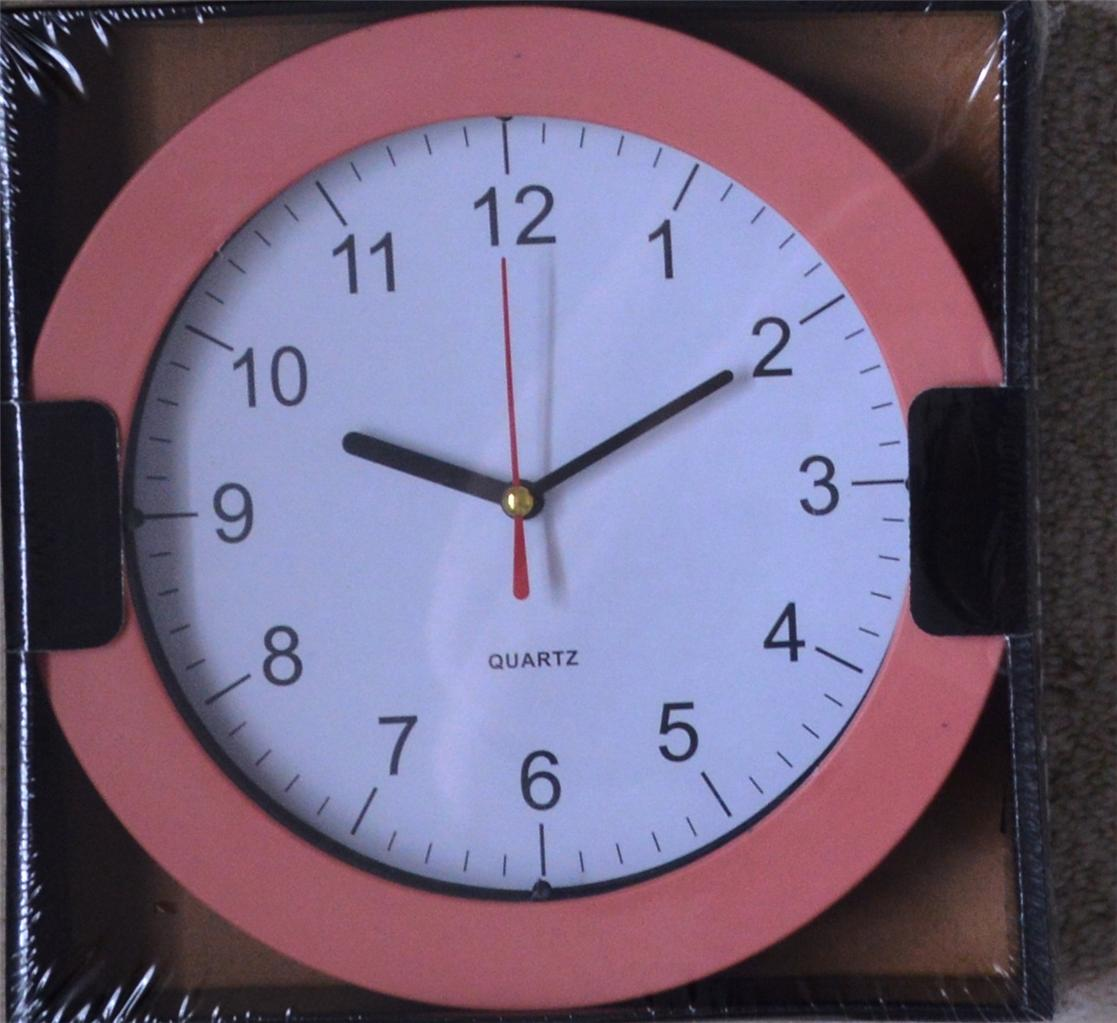 bright wall clock 23cm ideal for kitchen living dining