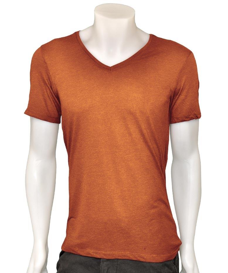 Mens t shirt cotton slim fit muscle top short sleeve plain for Best slim fit mens t shirts