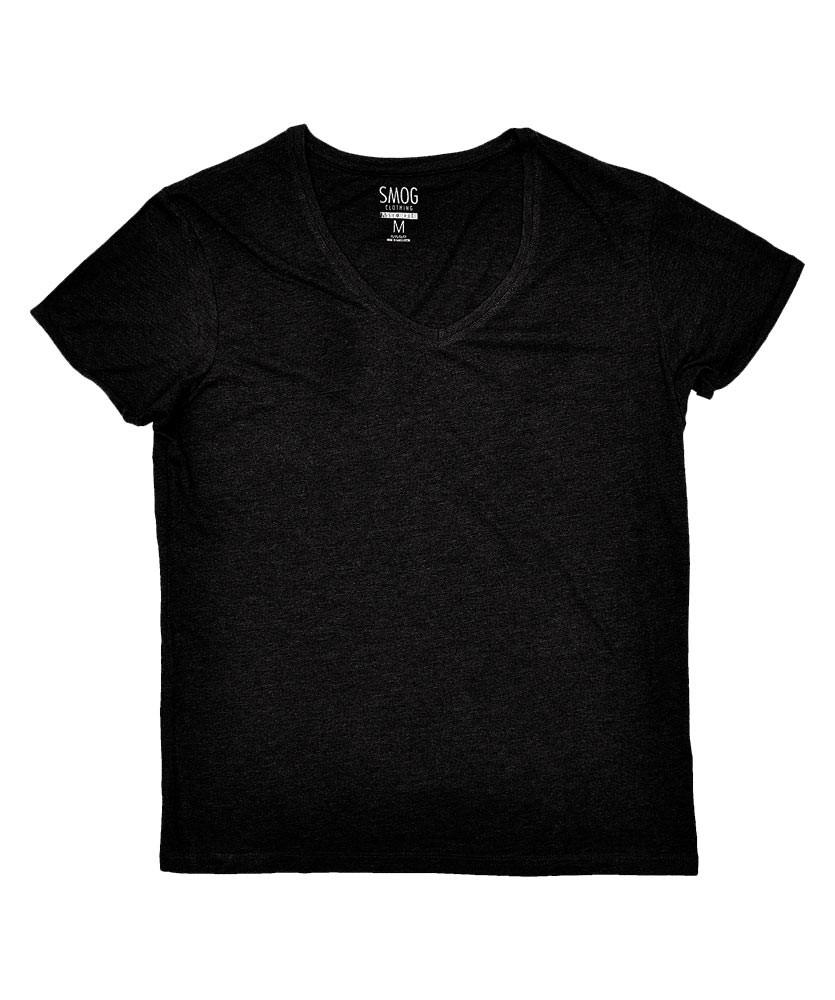 mens vee v neck t shirt s m l xl slim fit casual basic