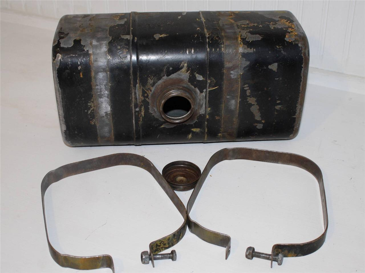 International Tractor Fuel Tanks : Ih cub cadet lawn tractor fuel gas tank w mounting straps