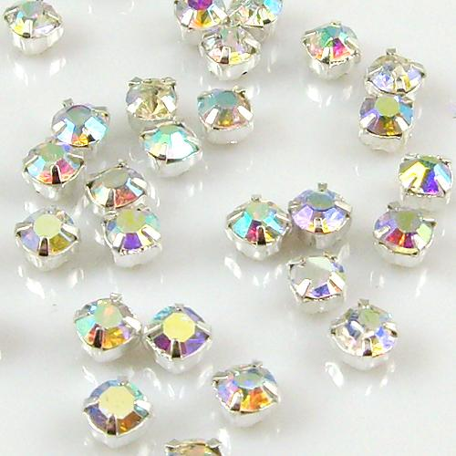 100x grade a sew on cut glass crystals rhinestones for Rhinestone jewels for crafts