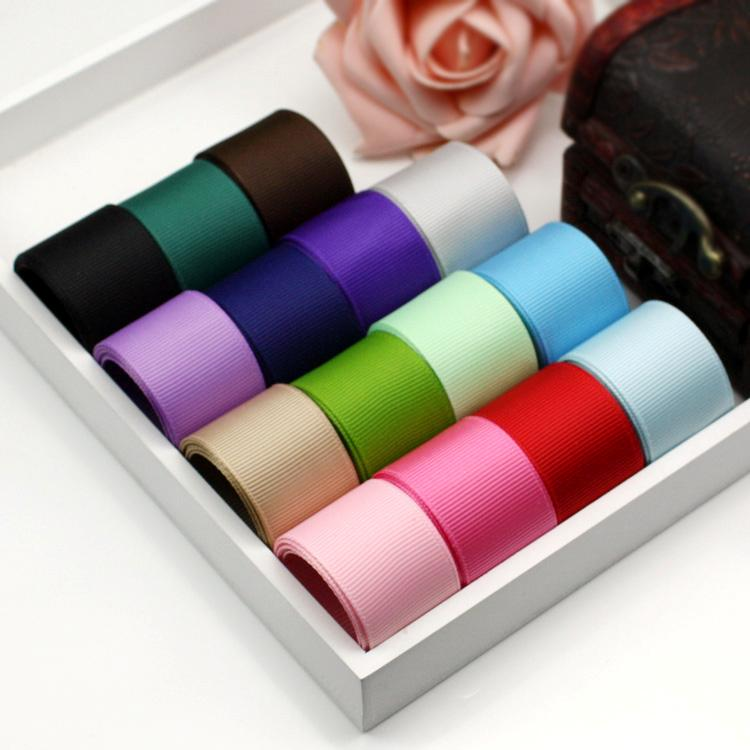 1 25mm quality double sided grosgrain ribbon craft for Craft supplies online cheap