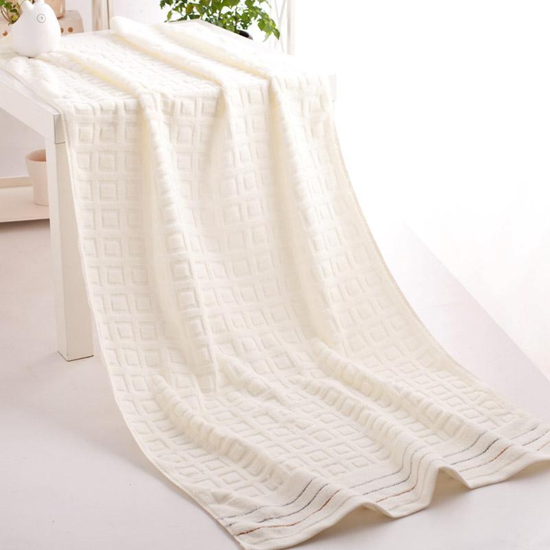 100% Cotton Stripe Grid towels Large Bath Sheet Bath Towel Hand Towel Face