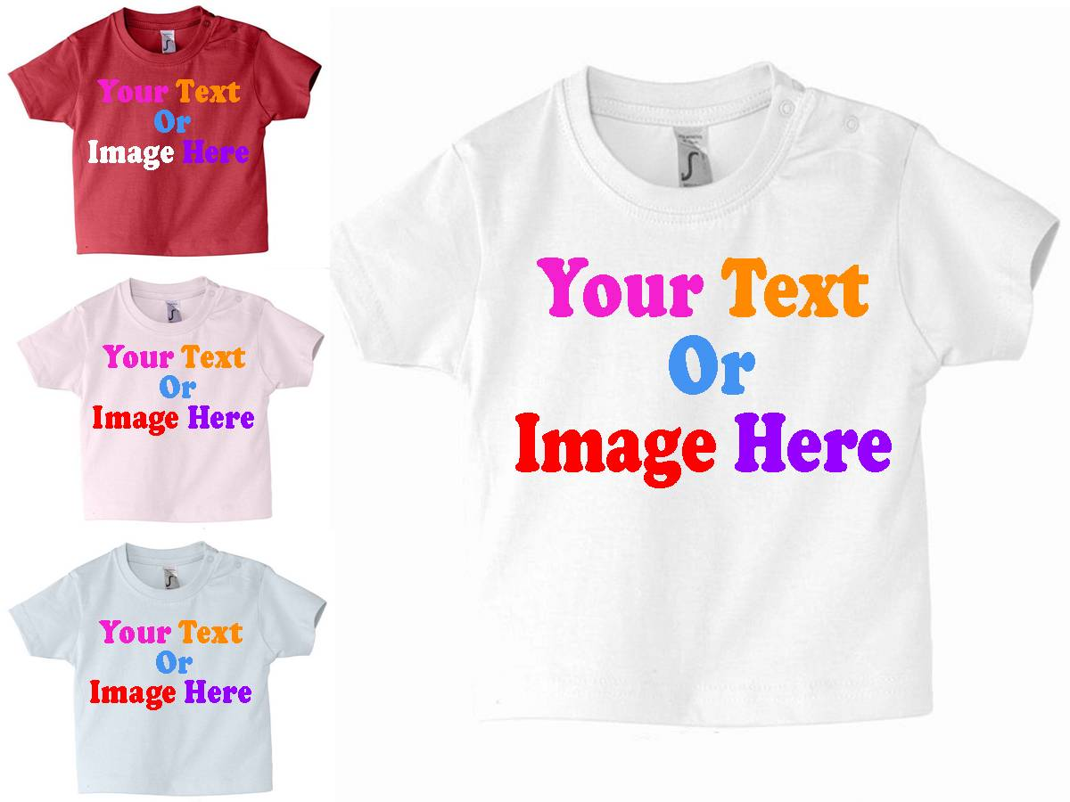 Custom-Personalised-Childrens-Babies-Toddlers-T-Shirt-Design-Your-Own-T-Shirt