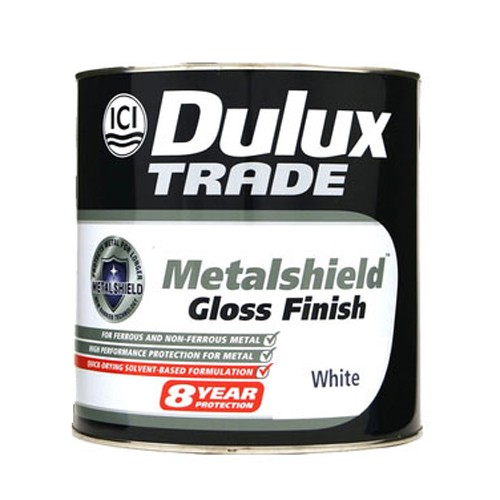 Dulux Silvers: NEW *** DULUX TRADE METALSHIELD GLOSS FINISH PAINT 1 LITRE
