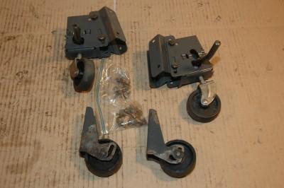 Craftsman Table Saw Mobile Caster Wheels Set Of 4 Casters Ebay