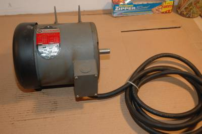 Delta rockwell unisaw table saw motor 3 hp three phase for 1 hp table saw motor