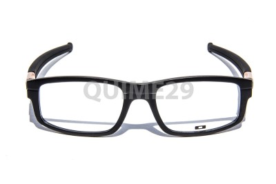 oakley panel 0x3153 0453 black bronze eyeglasses frame