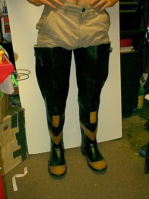 vintage 30 1 2 inches fireman rubber hip boots waders