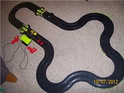 fast lane race track instructions