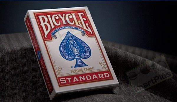 What are the dimensions of a standard playing card?
