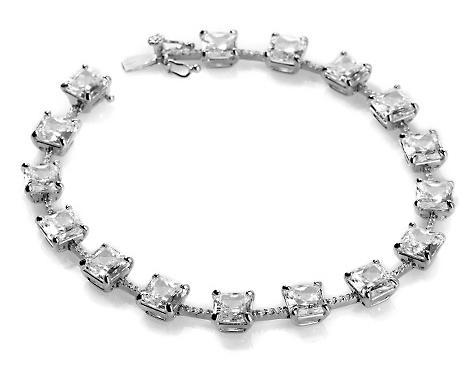 daniel k absolute madison princess cut line bracelet 8