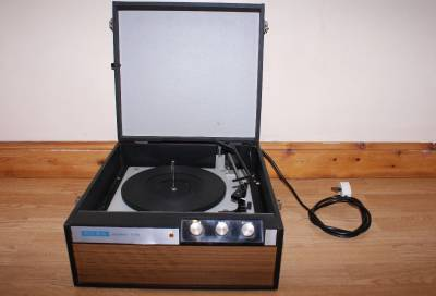 vintage alba 536 retro automatic record player turntable working 4 speed 1960s ebay. Black Bedroom Furniture Sets. Home Design Ideas