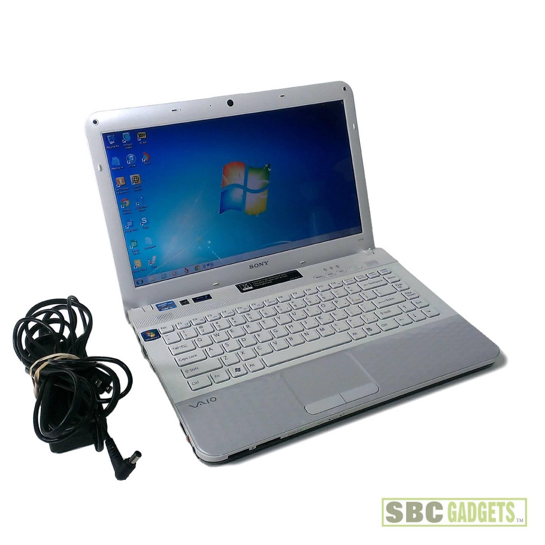 "Sony VAIO 14"" White Laptop PCG-61A12L - 134.2KB"