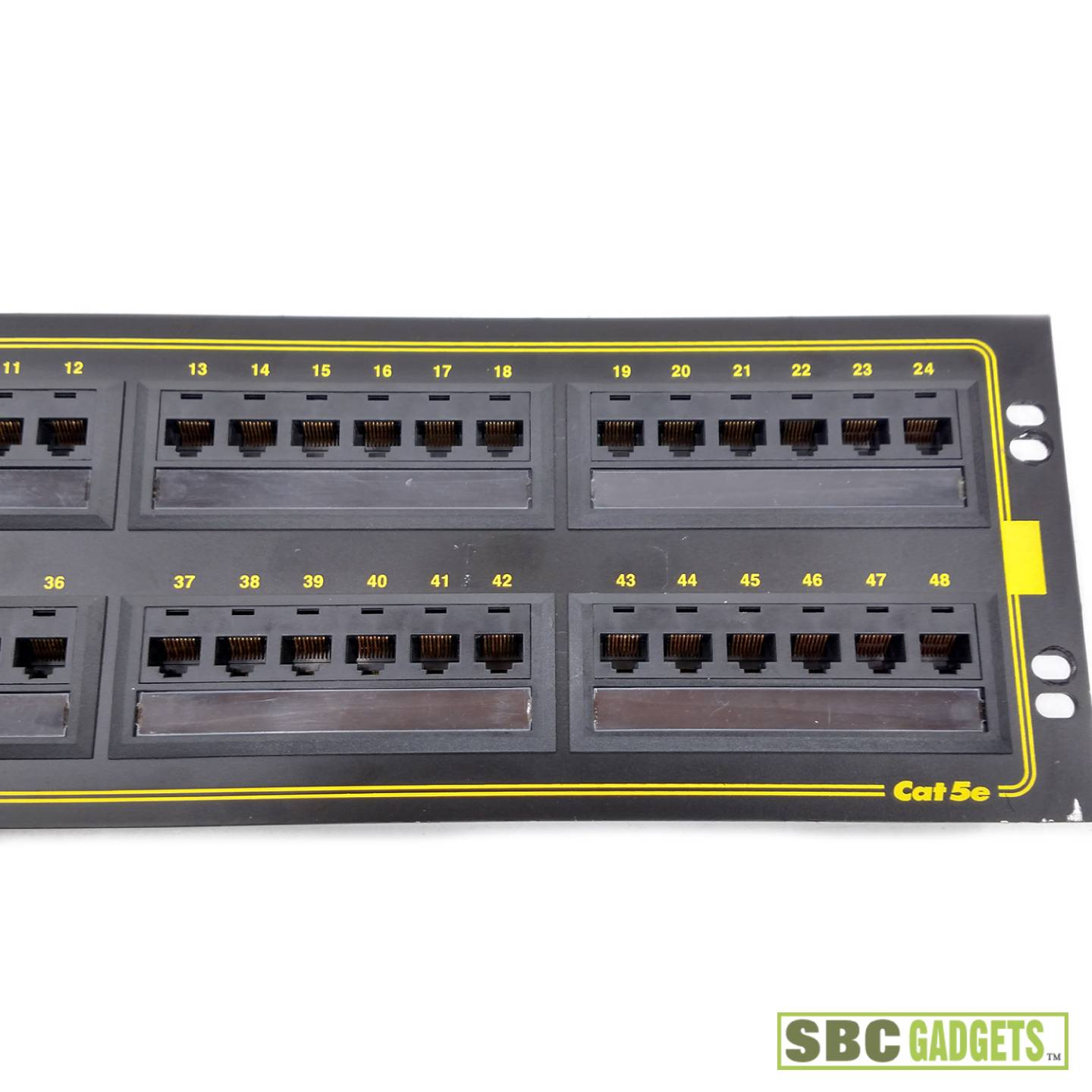 leviton patch panel label template - ortronics 48 port patch panel label template
