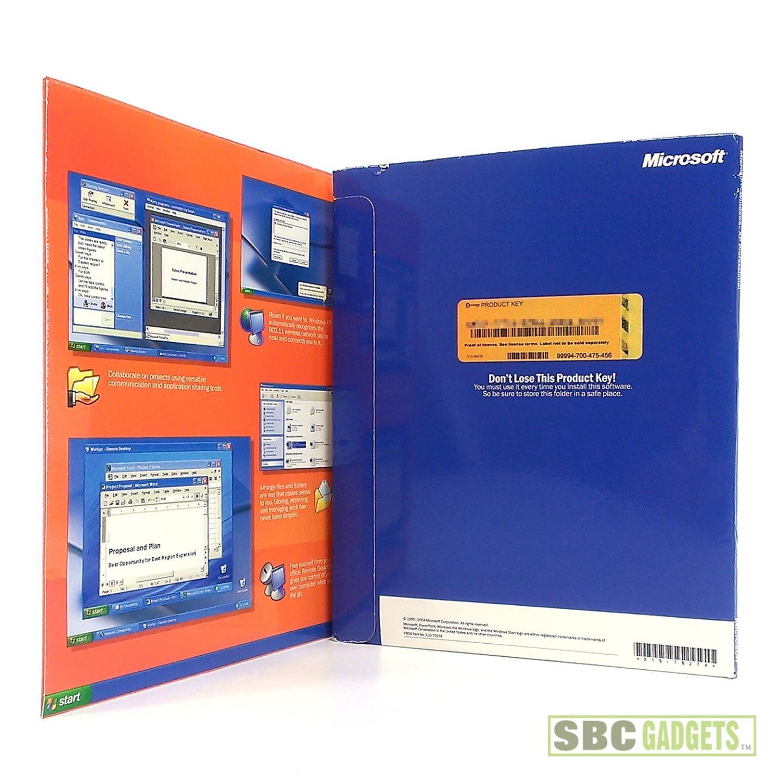 Microsoft Windows XP Professional Academic Edition SP2 w ...