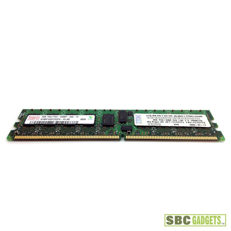 2gb Hynix Pc2 5300p Ddr2 Regitered Ecc Server Ram
