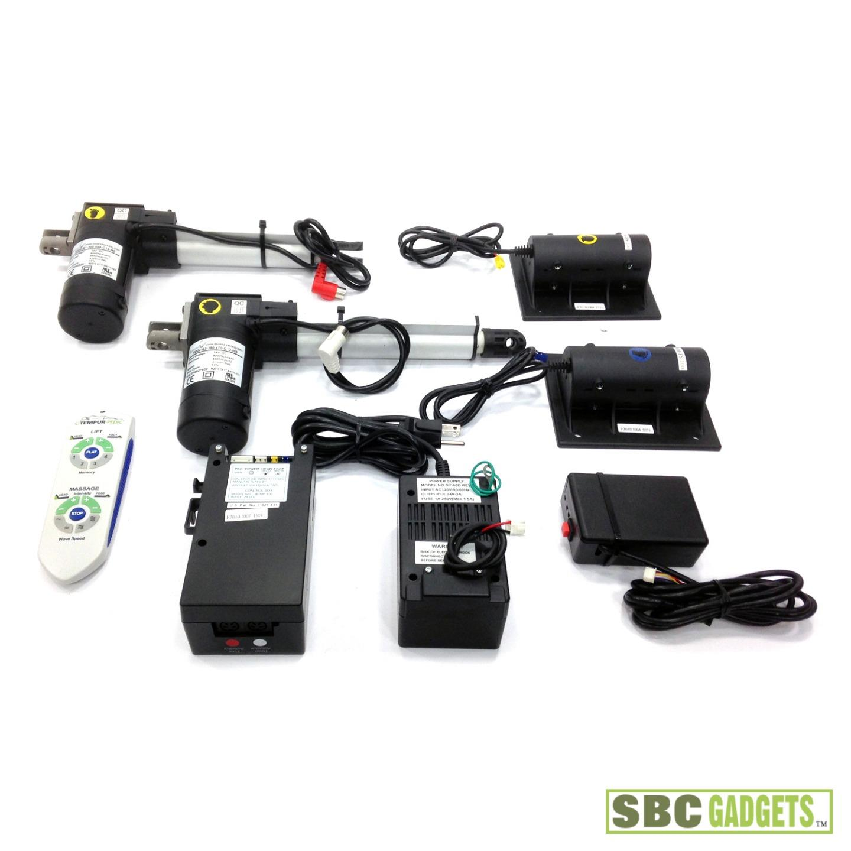 Electric Beds Motors : Complete reverie adjustable bed motors w lift