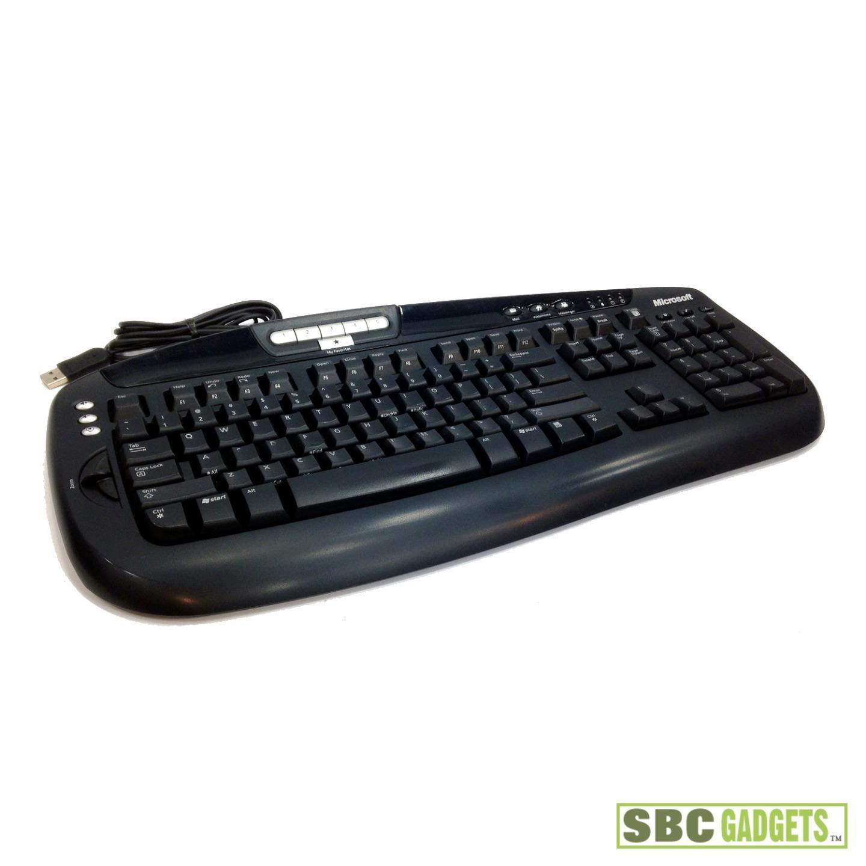 microsoft digital media pro keyboard model 1031 manual