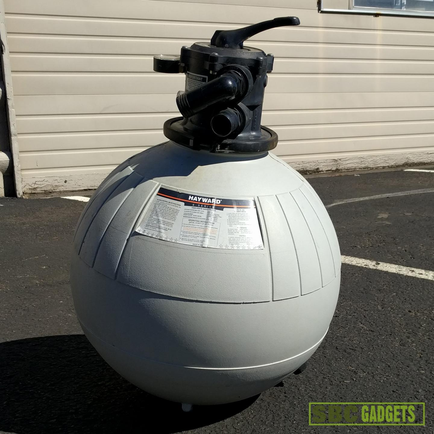 Hayward E Series Above Ground Pool High Rate Sand Filter Model E 200