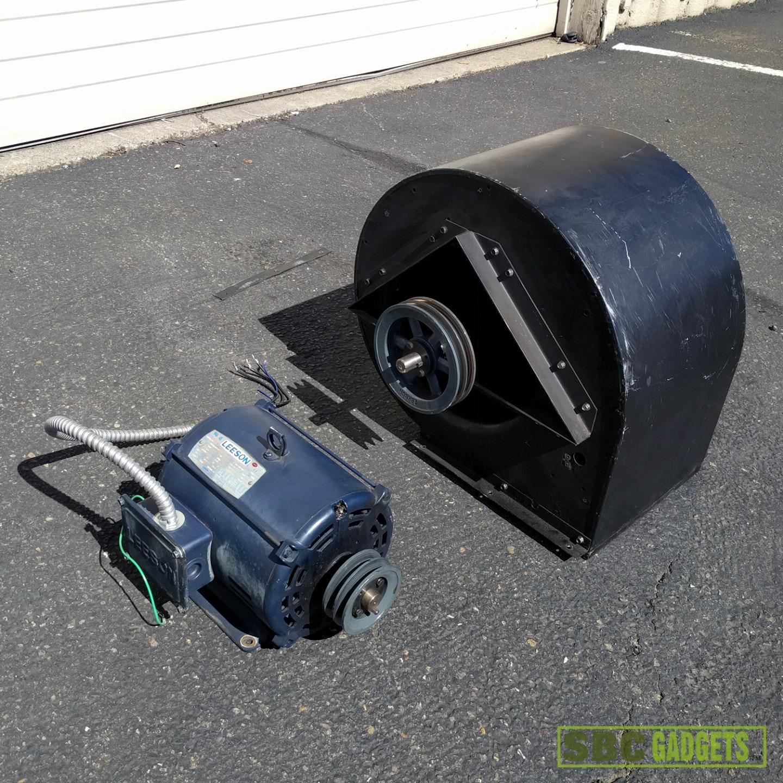 Centrifugal Fan Motor : Industrial inlet centrifugal fan blower with motor ebay