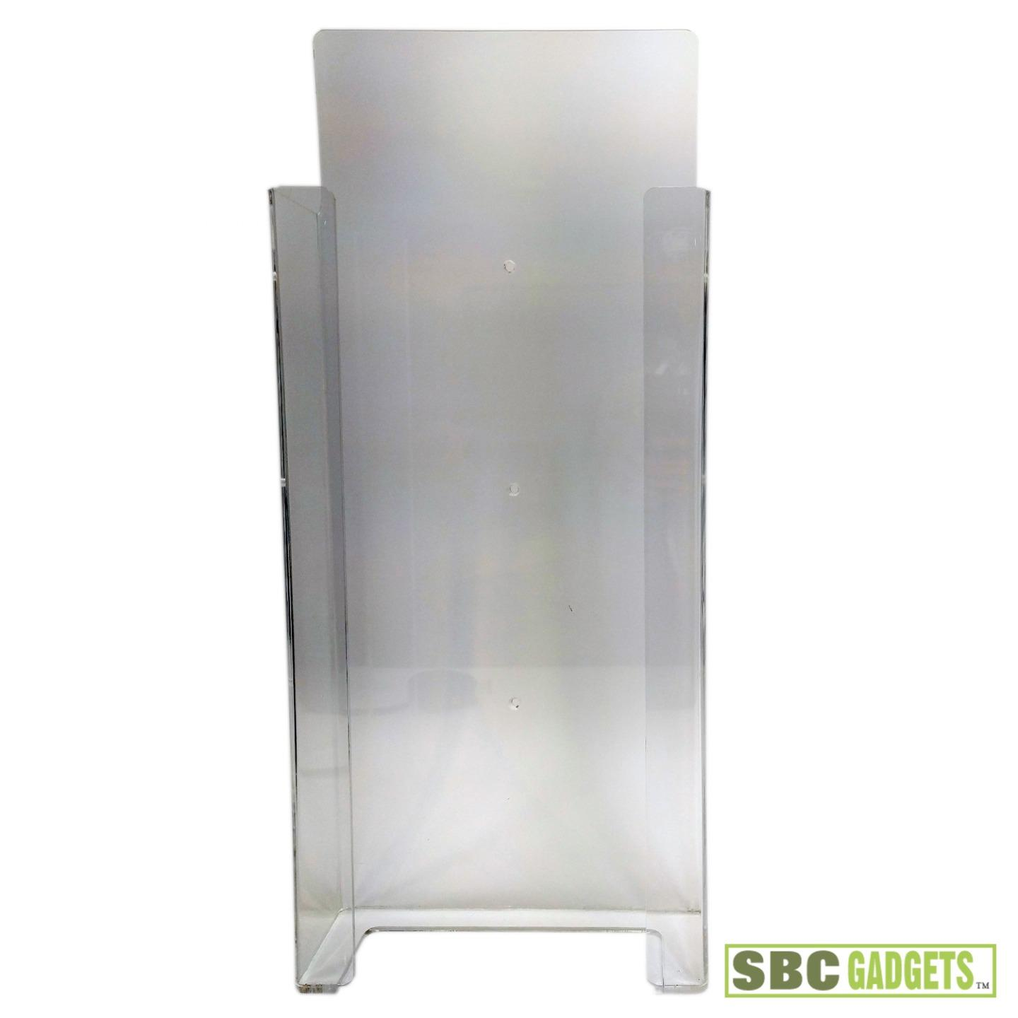 Acrylic Box To Hang On Wall : Medical clear acrylic wall mounted dispenser holder