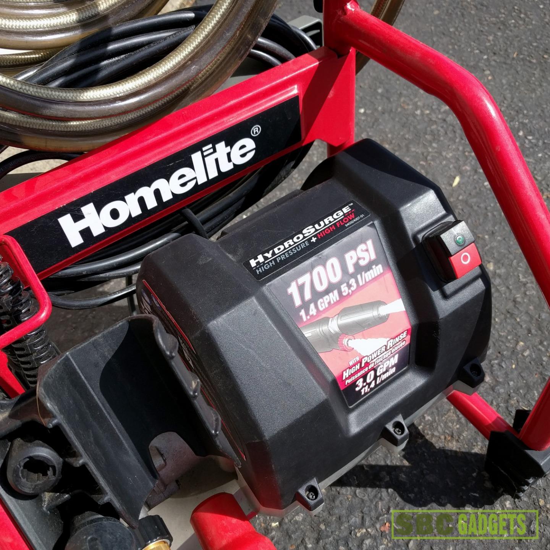 homelite hydrosurge 1700 psi pressure washer manual