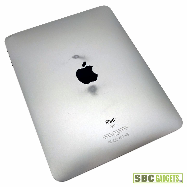 apple ipad 1st generation 16gb black wifi tablet mb299ll. Black Bedroom Furniture Sets. Home Design Ideas