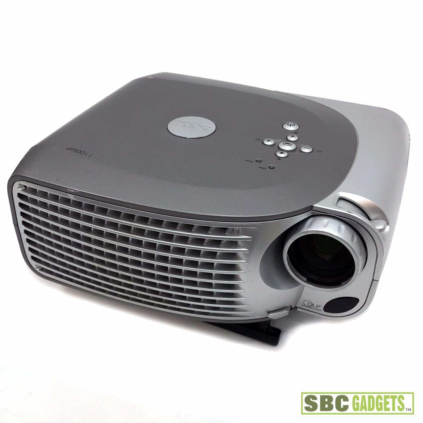 Dell svga dlp portable projector 1 400 lumens hd model for Dlp portable projector