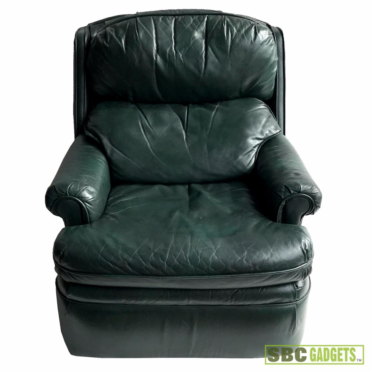 Green Leather Recliner 28 Images Vintage Green Leather