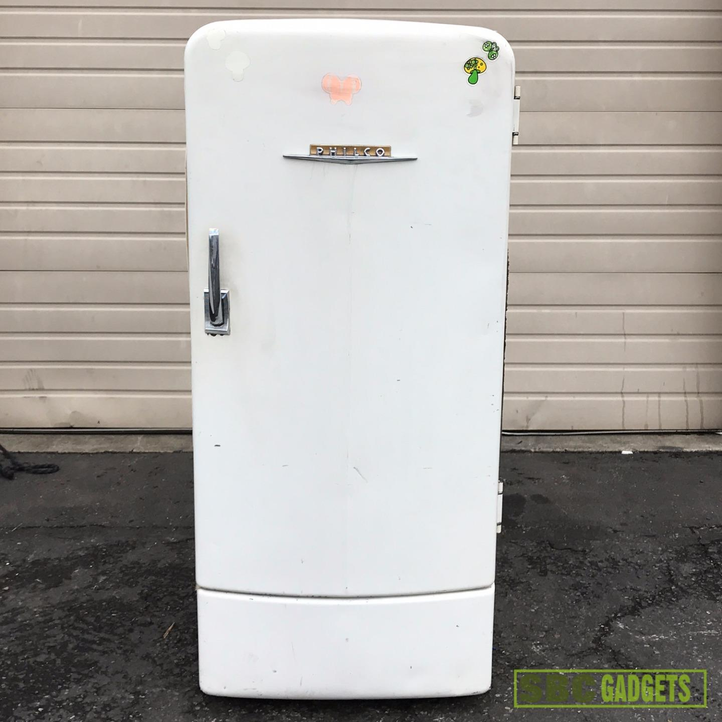 Antique vintage unfinished refrigerators -  Refrigerator Still Works Item Specifics
