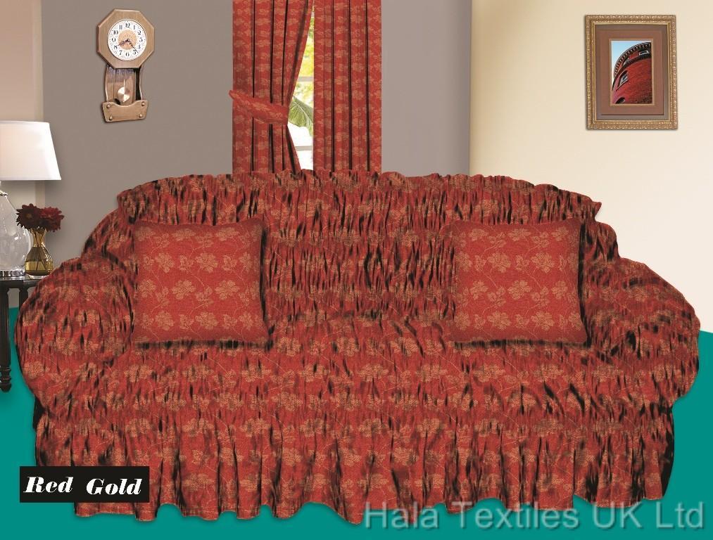 Jacquard Sofa Cover Settee Covers 2 Amp 3 Seater Sofas Sofa