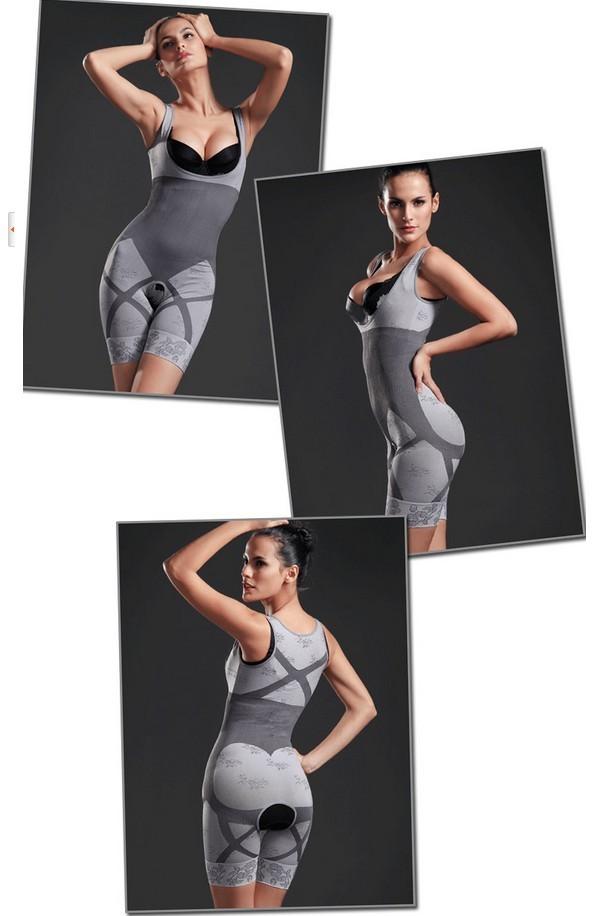 Brand New Women Natural Bamboo Charcoal Slimming Body Shaper