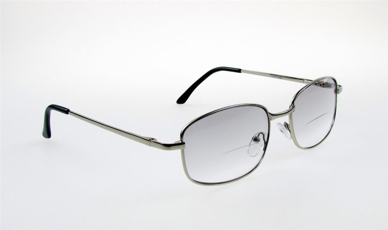 bifocal reading glasses light tint computer 100 125 150