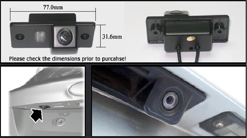 reversing camera fitting instructions
