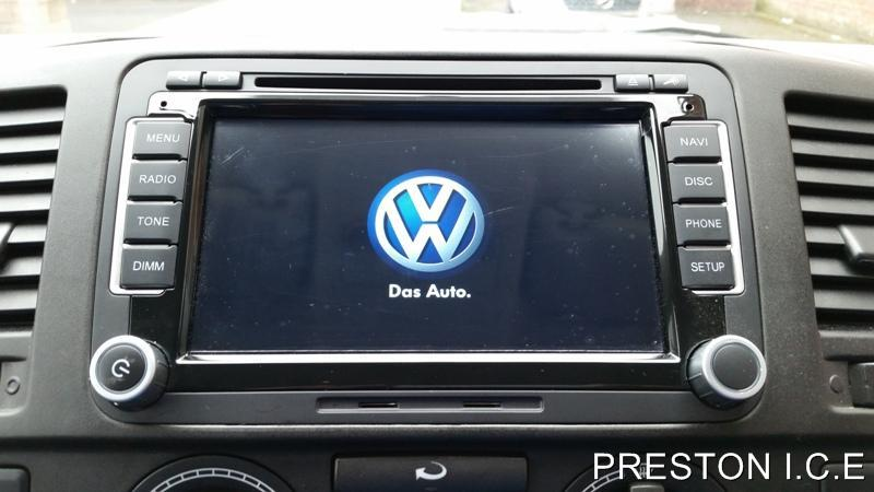 vw sat nav dvd player android bluetooth transporter t5 t5. Black Bedroom Furniture Sets. Home Design Ideas